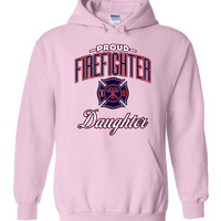 Proud Firefighter Daughter Hoodie