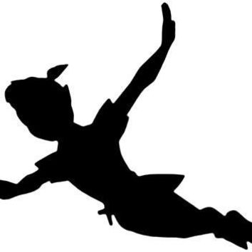 Peter Pan  Vinyl Car/Laptop/Window/Wall Decal