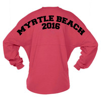 Myrtle Beach Spring Break Game Day Jersey