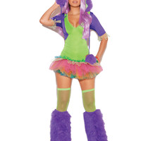 One Eyed Monster - 2 pc. Women's Costume