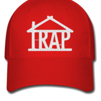 trap house w Bucket Hat - Flexfit Baseball Cap