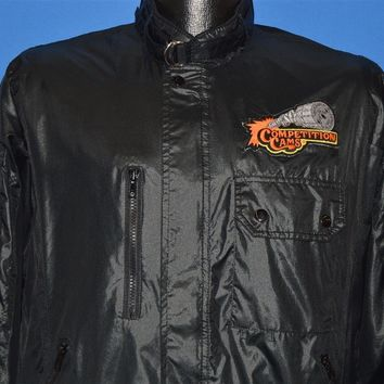 80s Competition Cams Black Racer Jacket Medium