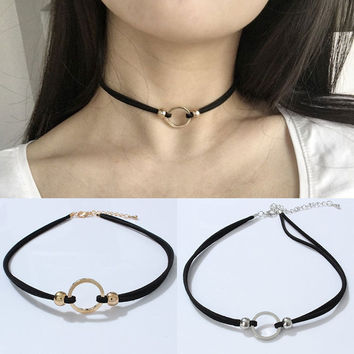 Stylish Jewelry New Arrival Shiny Gift Korean Chain Sexy Metal Necklace [10688605063]