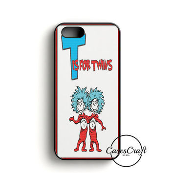 Thing 1 And Thing 2 iPhone 5/5S/SE Case