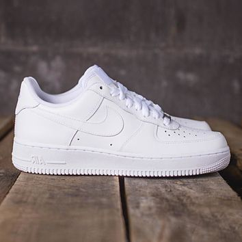 auguau NIKE - Men - Air Force 1 Low - White Mono
