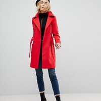 ASOS DESIGN classic trench coat at asos.com