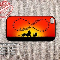 Infinity Hakuna Matata iphone 4 case, iphone 5 case, samsung galaxy s3 case