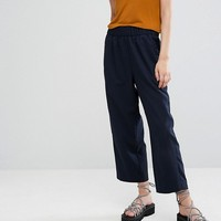 Weekday Melange Wide Leg Pant at asos.com