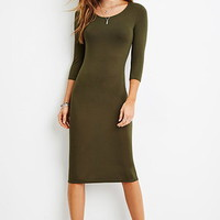 Bodycon Midi Dress
