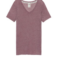 Vintage Washed Essential V-Neck Tee - PINK - Victoria's Secret