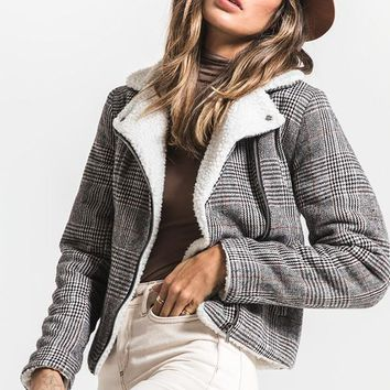 Hayes Sherpa Lined Jacket