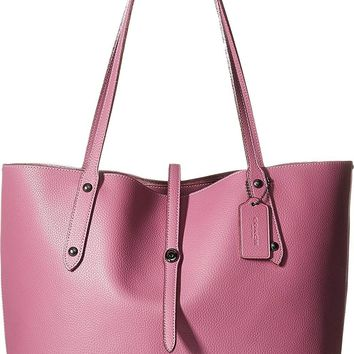 COACH Womens Market Tote with Metallic Lining