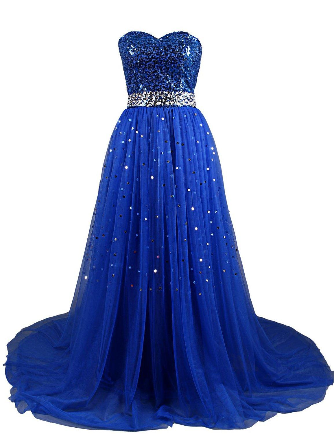 Dresstells Sweetheart Tulle Prom Dress from Amazon | Vestidos