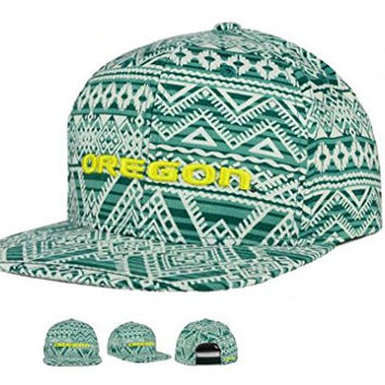 Oregon Ducks Adult One Size Fits All Snapback Adjustable Hat Cap Montezuma