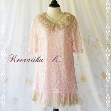 Princess Diary Dress ll - Sweet Baby Pink Lace Princess Dress Adorable Delicate Party Wedding Bridesmaid Prom Dress Gorgeous Design Dress