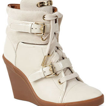 MICHAEL Michael Kors Shoes, Skid Wedge Sneakers - Espadrilles & Wedges - Macy's