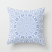 Helena Sky Throw Pillow by Lisa Argyropoulos