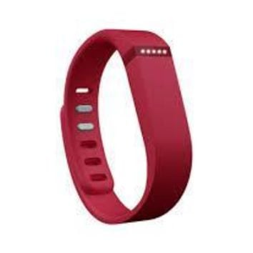 Red Fitbit Flex Wristband Accessory