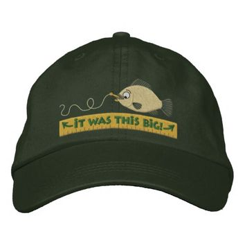 Fish Tales fishing humor hat