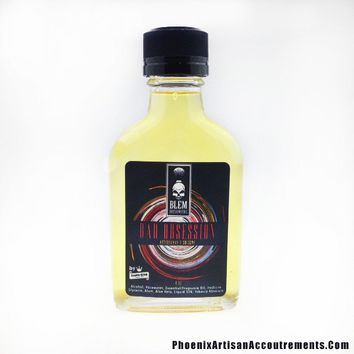 Bad Obsession Artisan Aftershave/Cologne - Patchouli, Sandalwood, Leather, Rose & Tobacco