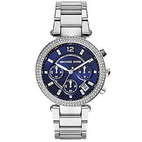 Michael Kors Stainless Steel Parker Watch - Silver