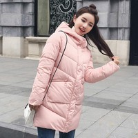 On sale 2019 spring Winter women warmed Thick hoodie Down Jacket Hooded PREMIUM QUALITY Duck Down thick Parkas