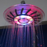 Romantic 4 Mixed-color LED Shower Head Bathroom Sprinkler
