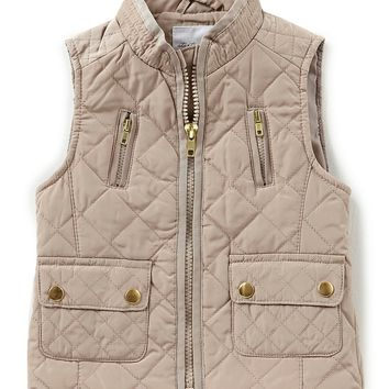 Starting Out Baby Girls 12-24 Months Quilted Vest | Dillards