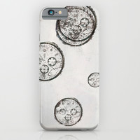 Last Leaf Against Time.   iPhone & iPod Case by Peter Coleman