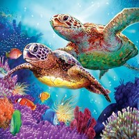 Turtle Guardian 1000pc Jigsaw Puzzle