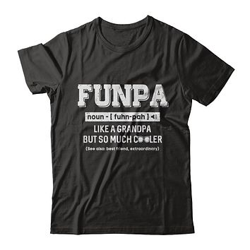 Funpa Like A Grandpa Only Cooler Fathers Day Gift