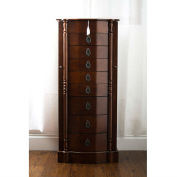 Shop antique armoire on wanelo for Juno vintage modern jewelry armoire