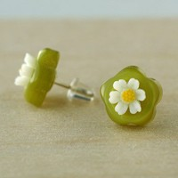 Handmade Gifts | Independent Design | Vintage Goods Vintage Summer Daisy Earrings - Girls