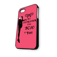 Cheers Cheerleader Bow To Toe iPhone 5/5S Case