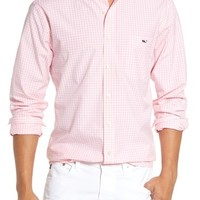 Vineyard Vines 'Tucker - Seabrook' Trim Fit Gingham Sport Shirt | Nordstrom