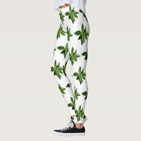 Basil Leaves Leggings
