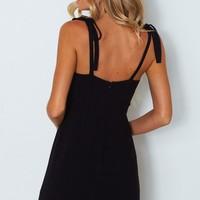 Real Romance Dress Black