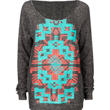 FULL TILT Navajo Screen Womens Sweatshirt 188993100 | sweatshirts & hoodies | Tillys.com