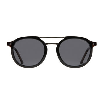 Komono Crafted Series Gilles Sunglasses in Black Tortoise