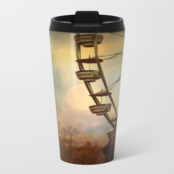 After The Thrill Is Gone Metal Travel Mug by Theresa Campbell D'August Art