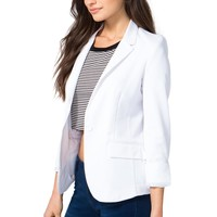 Classic Rolled Sleeve Blazer