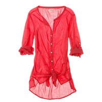Aerie Buttoned Cover Up | Aerie for American Eagle