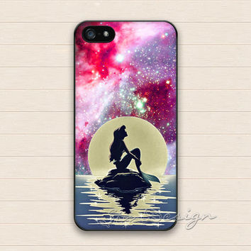 little mermaid iPhone 5 5s Case,iPhone 4 4s Case,iPhone 5C Case,Samsung Galaxy S3 S4 S5 Case,little mermaid Hard Plastic Rubber Cover Case