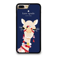 KATE SPADE CAMEL APPLIQUE iPhone 4/4S 5/5S/SE 5C 6/6S 7 8 Plus X Case