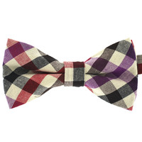 Tok Tok Designs Pre-Tied Bow Tie for Men & Teenagers (B318, 100% Cotton)