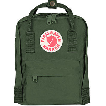 Fjallraven Kanken Mini Backpack Bag Greenland Green