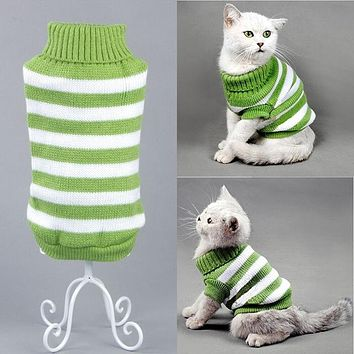 Turtle Neck Pet Sweater