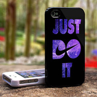Nike Just Do It Nebula iphone 4 case iphone 5 case by ihsannurdin