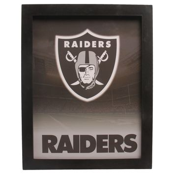 Oakland Raiders Sign Light Up Wall Style