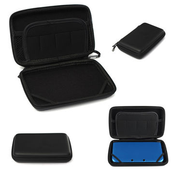 3 Colors EVA Carry Hard Bag For Nintendo 3DS XL Portable Travel Pouch Cases for Nintendo for 3DS XL LL Hard Cover Protective Bag